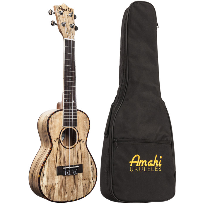 Amahi Classic Spalted Maple UK770C (concert)