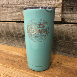 The River is Calling  20oz Coffee Tumbler
