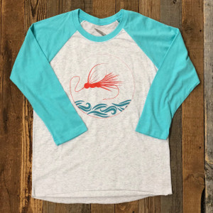 Cast It Baseball Tee