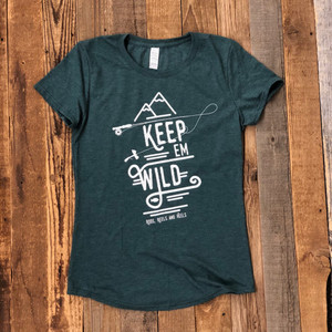 *NEW* Keep 'em Wild Tee