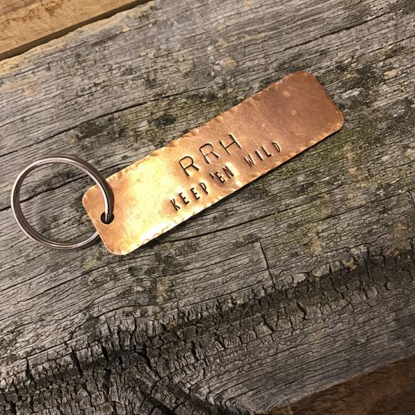 Fire Hole Key Chain