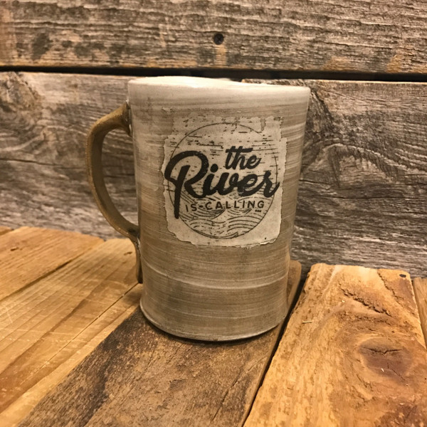 The River is Calling Mug
