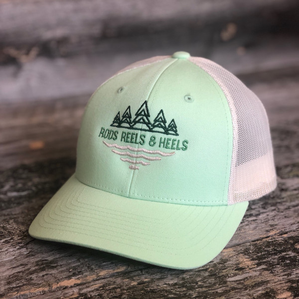 *NEW* The Rios Trucker- Lime