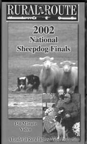 2002 National Sheepdog Finals DVD