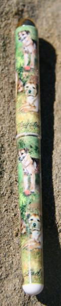 Border Terrier Ink Pen