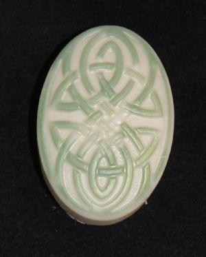 Green Tea & Cucumber Celtic Bar Soap