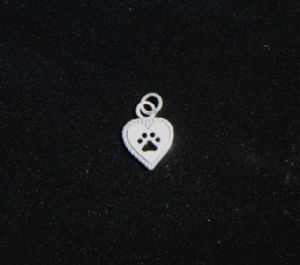 Mini Heart with Paw