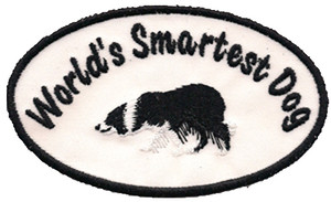 """World's Smartest Dog"" Patch"
