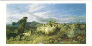 """""""Crossing the Moor"""" by Richard Ansdell"""