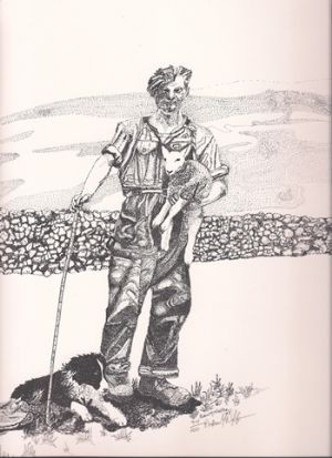 The Shepherd - Limited Edition Print