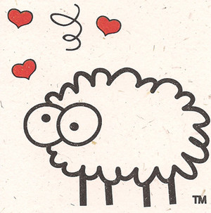 Love Ewe Note Card by Sheep Poo