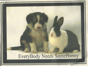 Everyone Needs Some Bunny - Tea Towel