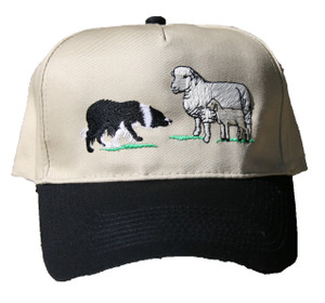 Border Collie & Sheep Cap