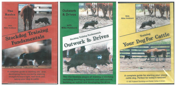 Set of 3 Mike Hubbard DVDs