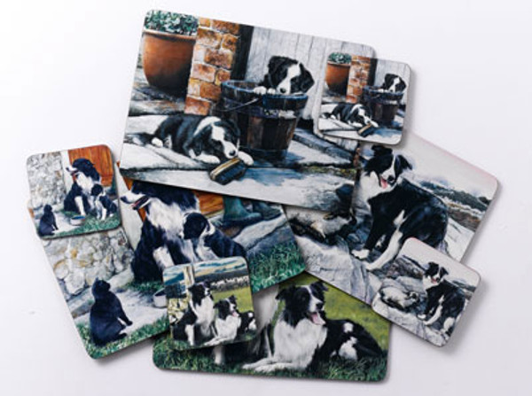 Border Collie Placemats