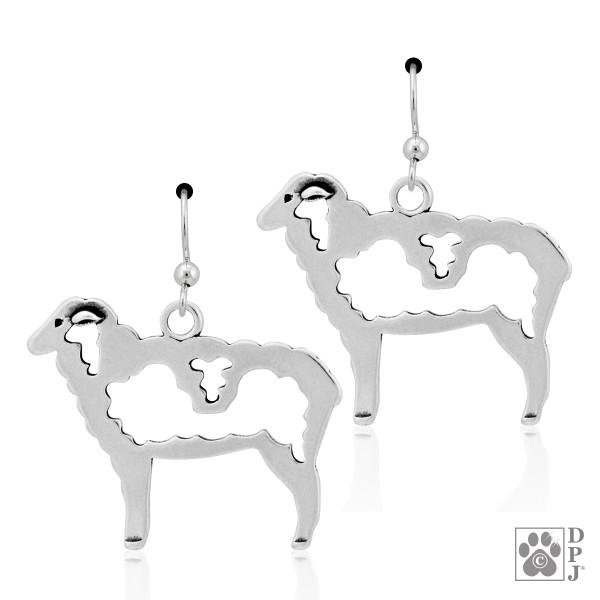 Wooly Sheep Earrings