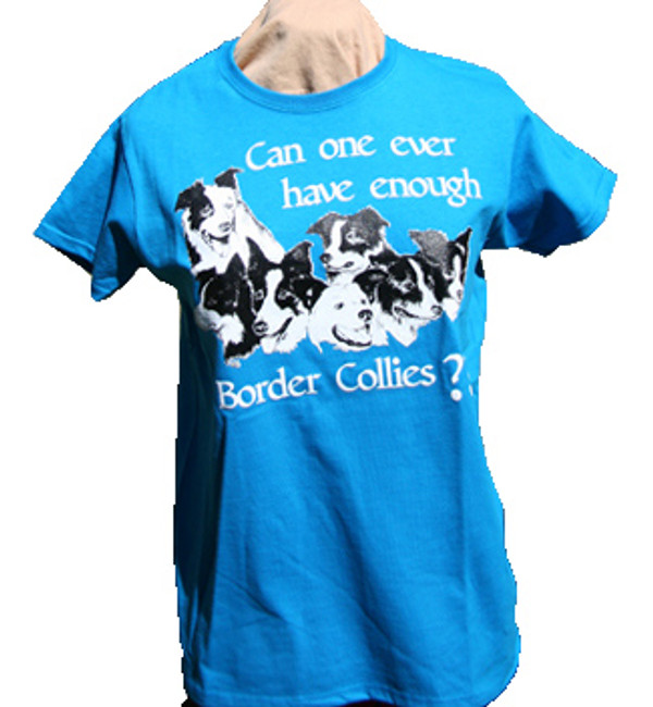 Can One Ever Have Enough Border Collies? Short-Sleeve T-Shirt