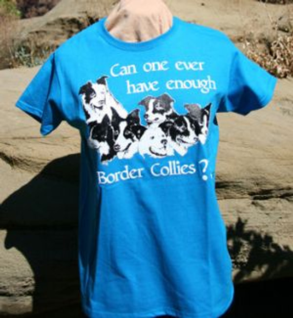 Can One Ever Have Enough Border Collies? Mens Short-Sleeve T-Shirt