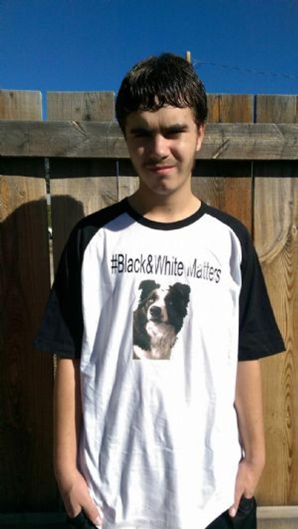 Black & White Matters - Men's T-Shirt Dual Color