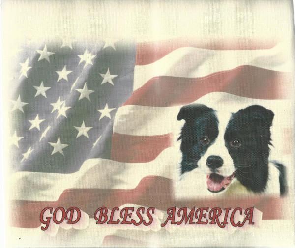 God Bless America - Tea Towel