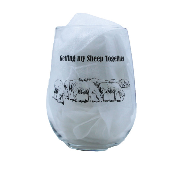 Getting my Sheep Together - Drinking Glass Set