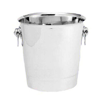 "JR - 7892 - Champagne Bucket - 7.6"" x 8"" Stainless Steel"