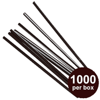 "Touch - 6"" Plastic Stir Sticks - 1000/box"