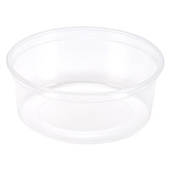 Maple Leaf - H2812 - 12 Oz Deli Container-Heavy, Clear - 500/Case
