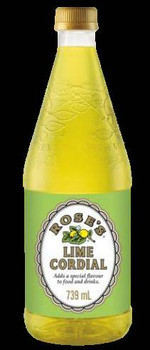 Rose's - Lime Cordial 739ml