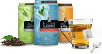 Higgins & Burke Herbal Tea Variety Pack, 20's x 6