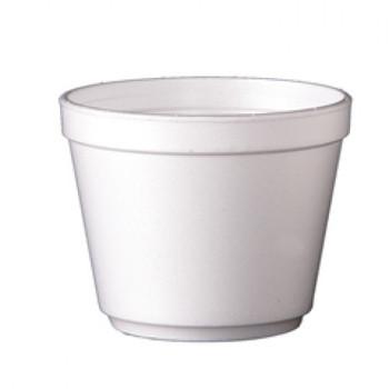 Dart - 20MJ32 - 20 Oz Foam Soup Container, White - 500/Case
