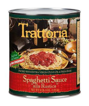 """Stanislaus - TRATTORIA® Spaghetti Sauce """"Alla Rustica"""" 6x100oz"""