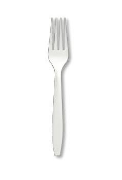 Darnel - D91210001 - White Plastic Heavy Fork - 1000/case
