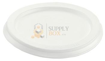 HFA - 4062DL-1000 - 4 oz Custard Plastic Lids - 1000/Case