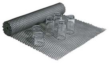 "JR - 7750 - Plastic Mesh Counter Mat - 50' x 24"" (Clear)"