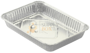 HFA - 394-40-100 - 13x9x2 Oblong Foil Container - 100/Case