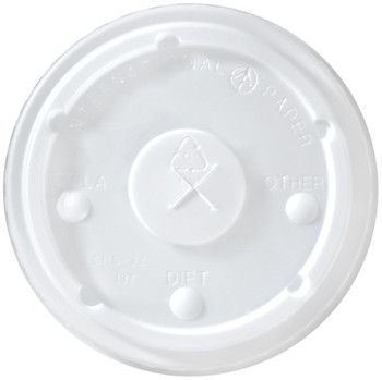 International Paper - LCRS-32 - Flat Translucent Lid - 1000/cs