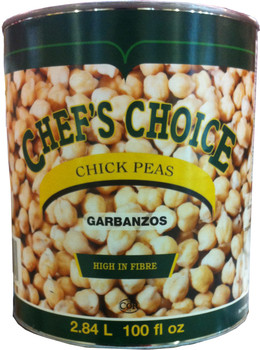 Chef Choice - Chickpeas 6x100oz