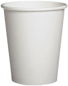 Genpak - 20H600 - 20 Oz Hot Paper Cup, Plain White, 600/Case