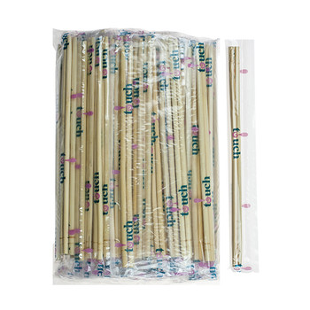 "Touch - 80-863 - Bamboo Chopsticks Individually Cellophane Wrapped, 9"", 20 x 100 Pairs = 2000 Pairs"
