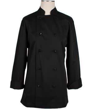 CI22139 Small - Black Chef Coat Small - Each