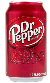 Dr. Pepper - 355ml Cans x 24 Pack