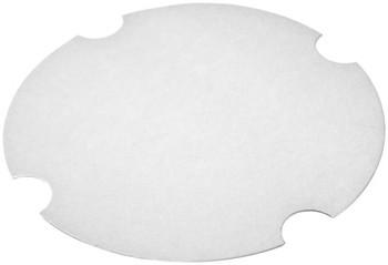 International Paper - LFRHM-85 - Flat Paper Lid fits DFS-54, DFM-85 - 200/cs