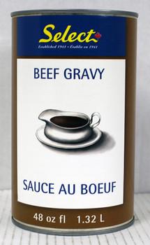 Select - Liquid Beef Gravy - Select 48 oz