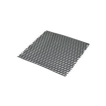 "JR - 7753 - Plastic Mesh Counter Mat - 50' x 24"" (Black)"