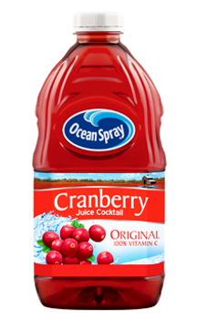 Ocean Spray - Cranberry Juice Cocktail - 1.77L x 8
