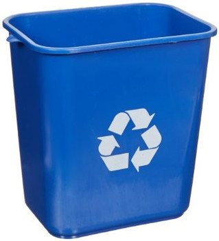 Dynapak - 28qt Blue - Waste Basket - 1 Unit/Each