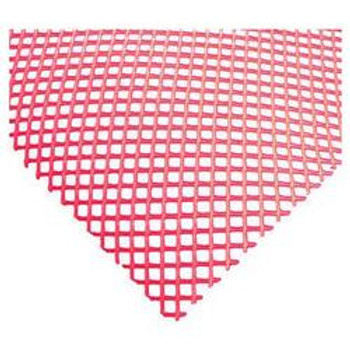 "JR - 7751 - Plastic Mesh Counter Mat - 50' x 24"" (Red)"