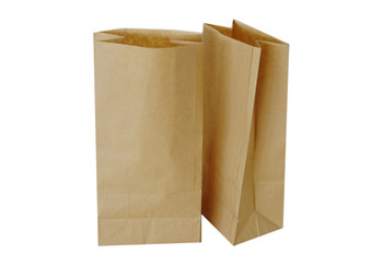 Atlas - DD50 - 12in X 7in X 17in - Heavy Duty Kraft Paper Bag - 500/Bundle
