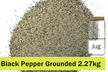 KOS - Black Pepper Ground 2.27kg JUG